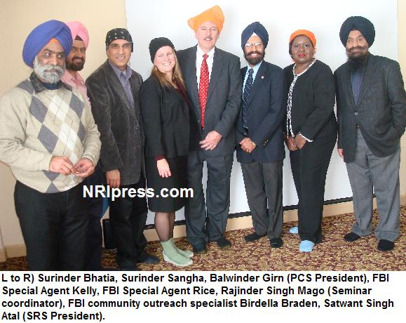 pcs- fbi seminar organized, Human Body