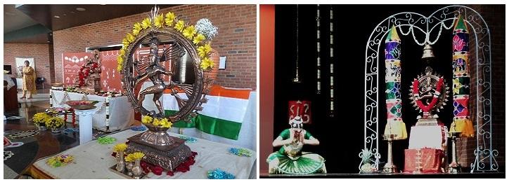 Jwala rejimon arangetram for Arangetram decoration ideas